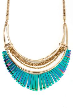 Rainbow Vision Necklace | Shop Jewelry at Nasty Gal