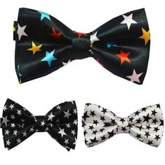 NEW Man's Classic Bowtie  Fashion Neckwear Adjustable  Mens Bow Tie Polyester Pre-Tied bowtie Free Shipping #Affiliate