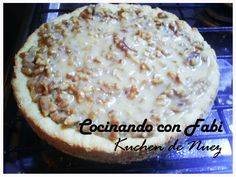 Cocinando con Fabi: Kuchen de Nuez