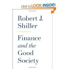 Finance and the Good Society [Hardcover].  List Price: $24.95  Savings: $8.82 (35%)