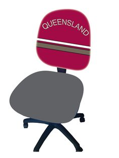 Office Chair Qld Tufted Parsons Custom Printed Chairs Free Delivery First In Australia