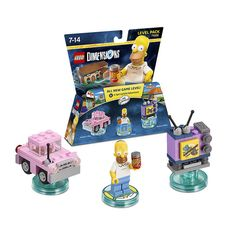 LEGO Dimensions 71202 - The Simpsons Homer Level Pack #lego #LegoDimensions #videogames #videogame #E32015