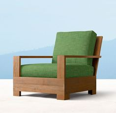Belvedere Luxe Lounge Chair - Natural Teak