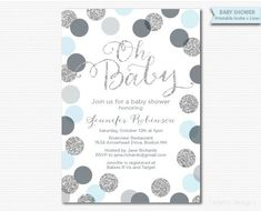 Baby shower or sprinkle invitation which you print yourself, or email to guests. All text can be changed to suit your event. Dimensions: 5x 7 or 4x 6 Format: 2 up on a 8.5x11 PDF (if printing at home or office supply store) or high resolution jpeg (if printing at a photo finisher.) You