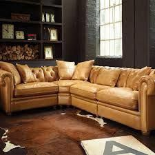 Tan Leather Corner Sofa With Grey Walls Google Search Corner Sofa Living Room Leather Corner Sofa Sofa