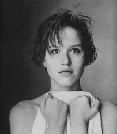 Molly Ringwald photographed by Matthew Rolston for Interview Magazine, 1985.