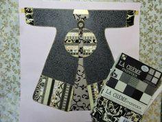 """Drama at the Opera Coat"" strip and applique technique. Paper Quilt, Opera Coat, Applique, Workshop, Drama, Quilts, Pattern, Atelier, Work Shop Garage"