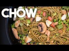 Chow is what my Grandmother called throwing Spaghetti together with meat protein, boiled eggs, veggies and ketchup - simple and delicious! Here are the ingre. Easy Weeknight Meals, Easy Meals, Easy Stir Fry, Chow Chow, Boiled Eggs, Lunch Recipes, Recipe Ideas, Make It Simple, Fries