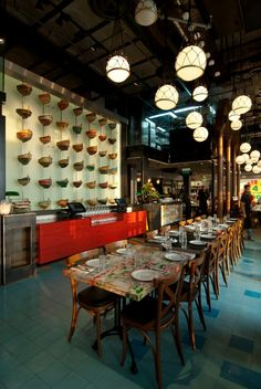 The old man and the sea restaurant.industrial design. Jaffa port# restaurant design by Nir portal architects