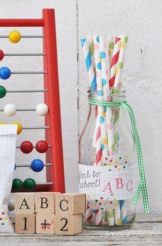Partyideen für den Schulanfang + DIY   back to school party   Casa di Falcone