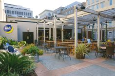 Moon River - The best beer garden in Savannah features a garden house, kitchen, restrooms and bar. The space has seating for you, your dog and 200 of your friends.