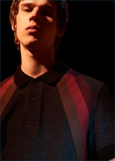 Raf Simons x Fred Perry Fall/Winter 2016 Campaign Raf Simons, Fred Perry, Fall Winter, Polo Shirt, Retro, Ad Campaigns, Fashion Fashion, Style, Golf