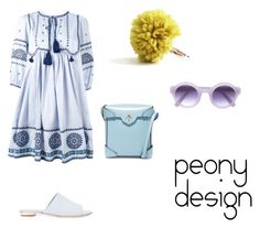 """Peony Design"" by teri-peony on Polyvore featuring Talitha, Sebastian Professional, MANU Atelier and Derek Lam"