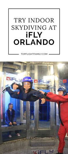 Want to try skydiving without having to jump out of a plane? Then you check out iFly in Orlando, Florida. Here's our family's experience trying it out.