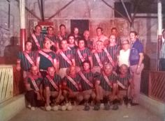 Time de bocha Vila Santa Isabel (anos 70) Acervo Sociedade Amigos de Vila Santa Isabel