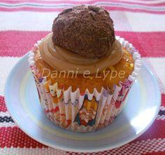Danni e Lype: Cupcake de Cenoura com Brigadeiro