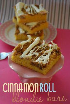 Cinnamon Roll Bars