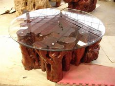 RUSTIC ROOT COFFEE TABLE (I1123B)