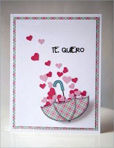 Pop Up Cards, Love Cards, Diy Cards, Handmade Birthday Cards, Diy Birthday, Tarjetas Diy, Diy And Crafts, Paper Crafts, Valentine Day Crafts