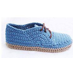 Flip-Flop Oxfords - Crochet Pattern - Instant Download