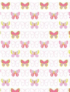 Get+Happy++in+cream/multi,+a+feature+wallpaper+from+Jane+Churchill,+featured+in+the+Get+Happy+collection.