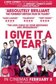 I give it a year Working Title Films, English Movies, First Anniversary, Hilarious, Funny, Newlyweds, Comedy, Cinema