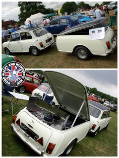 Love this extra long Towin Tuesday trailer! Carry all ya stuff plus room for the camping kitchen. Perfect I reckon Campers World, Small Campers, Trailer Build, Car Trailer, Trailers, Mini Cooper Classic, Classic Mini, Mini Clubman, Mini Coopers