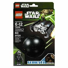 LEGO Star Wars Bomber and Asteroid 75008