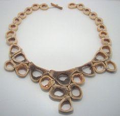 Evelien Sipkes  Necklace, bones