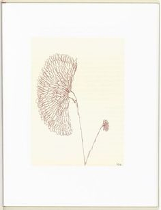 Louise Bourgeois. Untitled, plate 3 (facing page 8), only state, from Homely Girl, a Life, Volume I. 1992