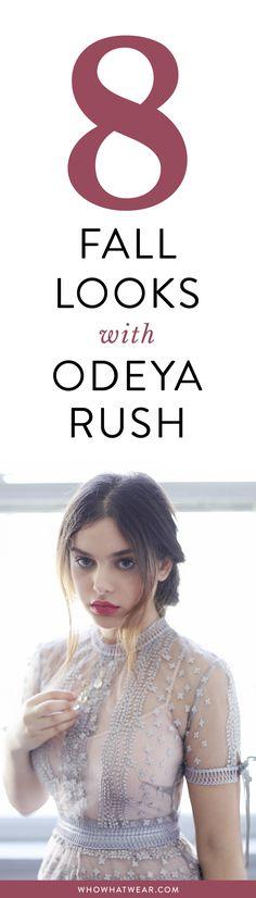 Odeya Rush models fall's Victorian trend