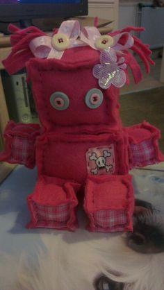 My felt robot x