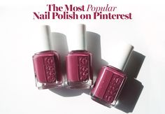 What the Most Popular Nail Polish on Pinterest Looks Like on 3 Different Skin…