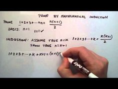 Proof by Mathematical Induction - How to do a Mathematical Induction Proof ( Example 1 ) - YouTube