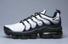 d259a2d4c00 Nike Air VaporMax Plus TN Grey White Black Men s Running Shoes Casual  Sneakers Nike Air Max
