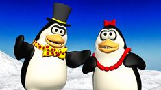 """Funny birthday greetings video animation, were cartoon Penguins sing Today is Your Birthday and funny dance. Share the short birthday video from """"video prese. Happy Birthday Penguin, Funny Happy Birthday Song, Birthday Qoutes, Very Happy Birthday, Happy Birthday Greetings, Penguin Songs, Penguin Videos, Birthday Songs Video, Today Is Your Birthday"""