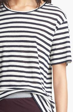 The perfect lightweight striped tshirt. \\ T by #AlexanderWang
