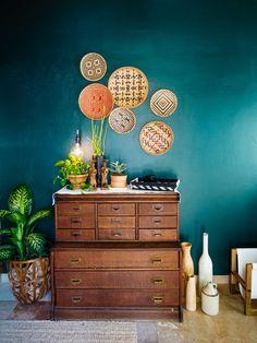 Old Brand New •Arteboheme Home Tour: Paint Color Ralph Lauren Constantine