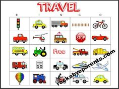 Car Bingo Game Cards: Free #Printable - rockabyeparents.com