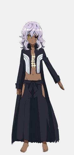 Yuuki Ono como Kamui en el anime Sousei no Onmyouji