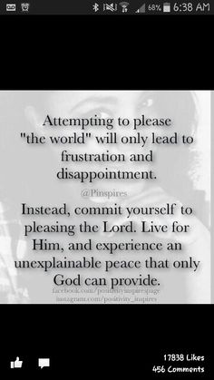 Please the Lord.