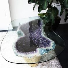 Crystal table