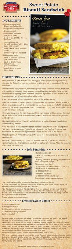 Gluten-Free Sweet Potato Biscuit Sandwich Recipe