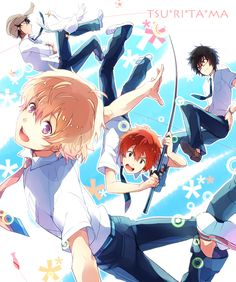 Natsuki, Akira, Yuki and Haru, Tsuritama