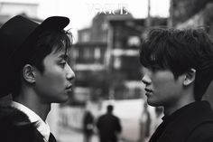 """The two lead actors of the upcoming drama """"Hwarang"""" shared a pictorial for the December issue of Vogue and we are ALL IN. Park Seo Joon and Park Hyung Siklook amazing in these photos a…"""