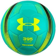395 Soccer Ball, Energy with Black Highlights, Size 5