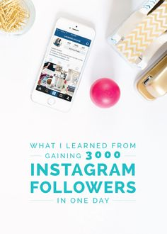What I Learned from Gaining 3000 Instagram Followers in One Day - Elle & Company