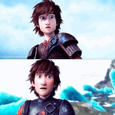 RTTE animation getting better! His expressions are to die for! Hiccup And Toothless, Hiccup And Astrid, Dreamworks Dragons, Disney And Dreamworks, Hicks Und Astrid, Httyd 2, Movies Coming Out, How To Train Dragon, Dragon Rider