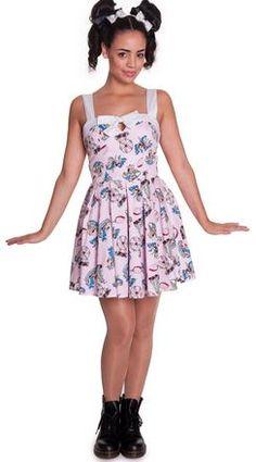 Hell Bunny Funfair Mini Dress - Suicide Glam Australia