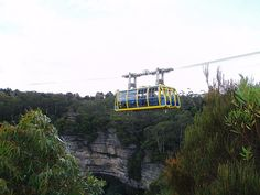 Scenic World. Katoomba. Blue Mountains. NSW. Out with the old in with the new.